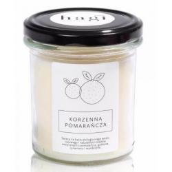 Sojowa świeca zapachowa KORZENNA POMARAŃCZA
